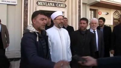 Diyanet İşleri Başkanı Ali Erbaş deprem bölgesindeki çalışmaları anlattı