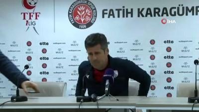 """Hüseyin Eroğlu: """"Beraberlikte oyun bize döndü ama değerlendiremedik"""""""