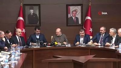 Sağlık Bakanı Fahrettin Koca: 'Yaralı 86 kişiden 16'sı yoğun bakım şartlarında tedavi görüyor'