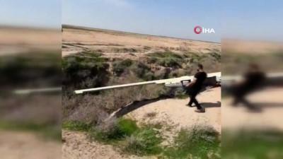 - İran'a ait İHA Huzistan eyaletinde düştü