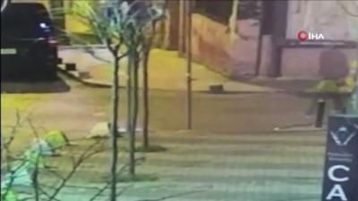 Şişli'de araç yakıp otomobillerin lastiklerini kesen zanlı tutuklandı
