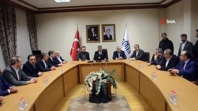 TOBB Başkanı Hisarcıklıoğlu: 'Allah'ın izniyle bu felaketin üstesinden el birliğiyle, güç birliğiyle gelinecektir'