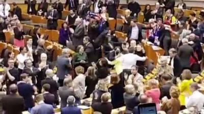 genel kurul -  - Avrupa Parlamentosu, Brexit Anlaşmasını onayladı