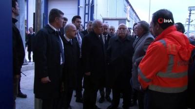 Bakan Turhan'dan Eskişehir-Antalya hızlı demiryolu hattı açıklaması