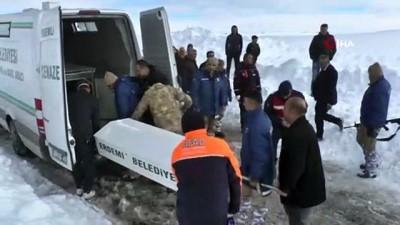 Karda kaybolan Ali Kaçar'ın cenazesi morga kaldırıldı