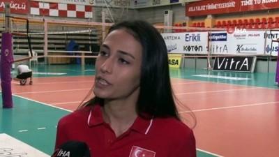 Simge Aköz: 'Olimpiyatlardaki takımlara tehlike oluşturuyoruz'