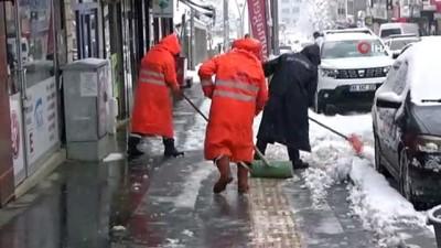 Muş'ta 80 köy yolu kar nedeniyle ulaşıma kapandı