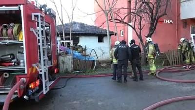 icmeler -  Tuzla'da gecekondu yangını