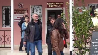 kimlik karti -  Antalya'da lise öğrencisine kapkaç şoku kamerada