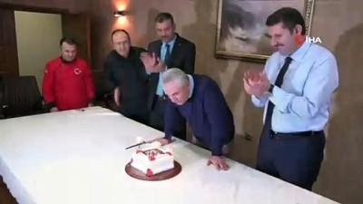 Çalımbay'a sürpriz doğum günü