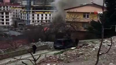 nadan -  Çengelköy'de tek katlı evde korkutan yangın
