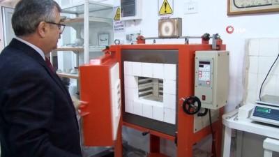 II. Abdülhamid'in kurduğu fabrikada ısı ve ses yalıtan 'Köpük seramik' üretildi