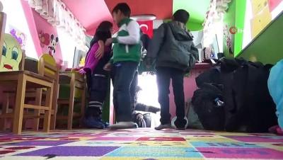 teroristler -  Şehit öğretmen adına yapılan gezici okul, depremzede çocuklar için görevde