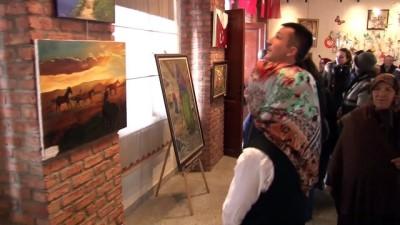 Altındağlı sanatçılar depremzedeler için resmetti