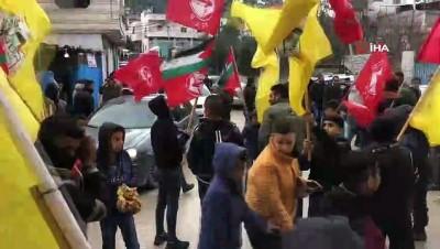 multeci - - Filistinliler Sözde Orta Doğu Barış Planını Protesto Ediyor