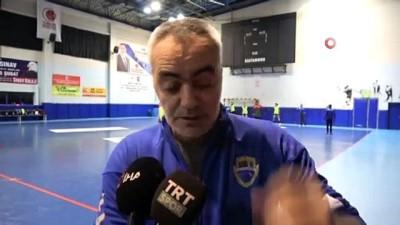 ceyrek final - Kastamonu Belediyespor, çeyrek final için Macaristan'a gitti