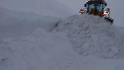 Giresun'da 88 köy yolu kardan ulaşıma kapandı