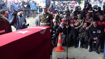 Kuzey Irak şehidi Berkay Işık'ın cenazesi memleketi Tokat'ta toprağa verildi