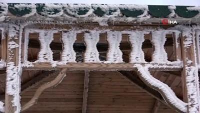 Ardahan'da hayat buz kesti, Göle eksi 27 dereceyi gördü