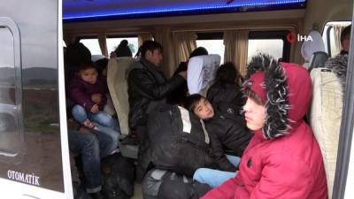 multeci -  Çanakkale'de 108 mülteci yakalandı