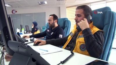 Elazığ'da 112'ye gelen gereksiz çağrı yüzde 85 düştü