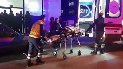 Evinin önünde silahlı saldırıya uğradı, kahvehanedekiler yardımıyla hastaneye yetiştirildi