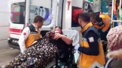 Miras kavgası kanlı bitti: 2'si kadın 5 yaralı