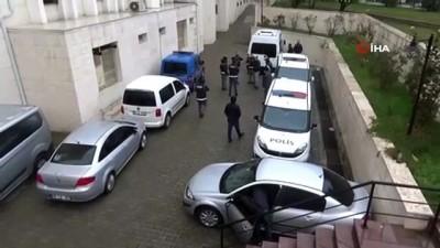 Organize suç örgütü kurduğu iddia edilen şahıslar adliyeye sevk edildi