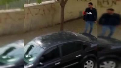Karısını sokak ortasında döven şahıs yeniden serbest bırakıldı