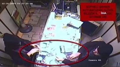 Müşteri kılığında girdiği kuyumcuyu biber gazıyla böyle soydu