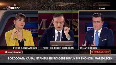 Prof.Dr. Bozdoğan, Kanal İstanbul'un toplam maliyetini açıkladı