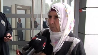 en yasli kadin -  Yaşlı kadın bankadan çektiği dul aylığını düşürdü