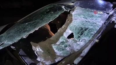 Gizli buzlanma zincirleme kazaya neden oldu: 6 yaralı