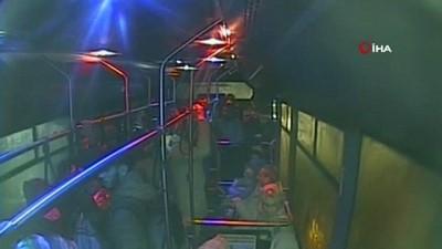 Baygınlık geçiren yolcuyu otobüsle hastaneye böyle yetiştirdi