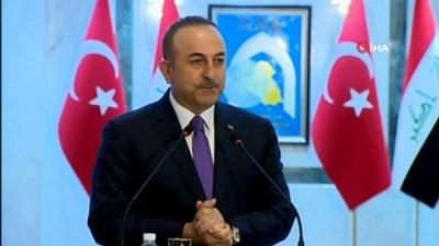 - Çavuşoğlu: 'Irak'ın yabancı güçlerin çatışma alanı olmasını istemiyoruz'