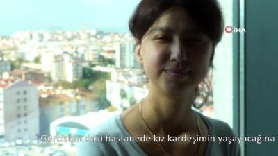 Gürcistan'dan komada geldi, Bursa'da sağlığına kavuştu