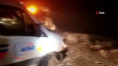 Santralde mahsur kalan 2 kişiyi AFAD ve itfaiye kurtardı