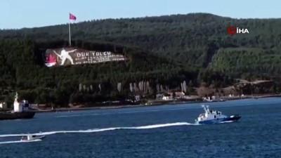 sahil guvenlik -  Bulgar sahil güvenlik botu Çanakkale Boğazı'ndan geçti