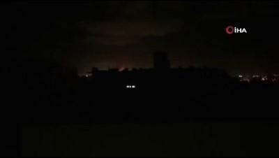 - İsrail güçleri Gazze'yi hava saldırısıyla vurdu