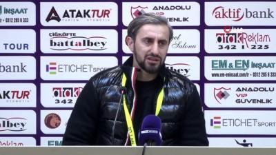 devre arasi - Serkan Özbalta: 'Ligi ilk 6'nın içinde bitirmeyi hedefliyoruz'