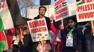 isvec -  - Stockholm'de Binlerce Kişi ABD Ve İsrail Karşıtı Gösteri Düzenledi