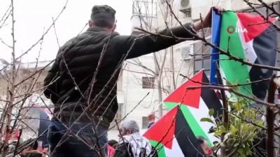 multeci -  - Filistinliler Trump'ın sözde Orta Doğu barış planını protesto etti