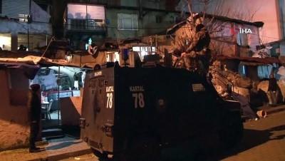 polis merkezi -  İstanbul'da Narkotik Ekipleri, şafak vakti operasyonu gerçekleştirdi: 44 gözaltı