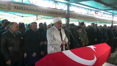 alabalik -  Kahramanmaraş İdlib şehidini dualarla uğurladı