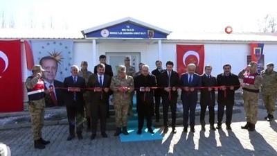 acilis toreni -  Merkez İlçe Jandarma Komutanlığı hizmet binası açıldı