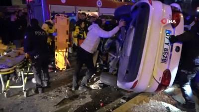 polis merkezi -  Yeni evli çiftin geçirdiği kazada ağır yaralanan gelin yaşam savaşını kaybetti
