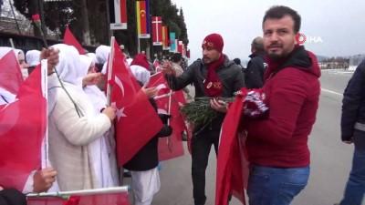 kalaba -  Cumhurbaşkanı Erdoğan'a sevgi seli