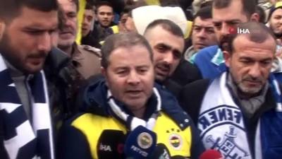 basin aciklamasi - Fenerbahçeli taraftarlar Riva'da toplandı