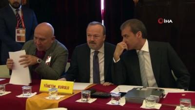 divan kurulu - Galatasaray'ın şubat ayı divan toplantısı başladı