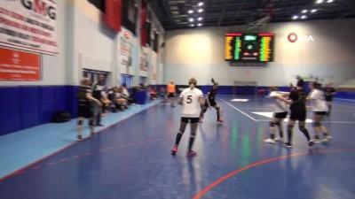 dera - Türkiye Kadınlar Hentbol Süper Ligi: Kastamonu Belediyespor : 34 - Yalıkavak Spor Kulübü: 30
